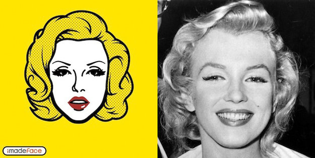 Marilyn Monroe Cartoon