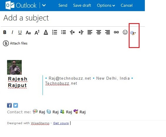 Outlook Gmail Signature