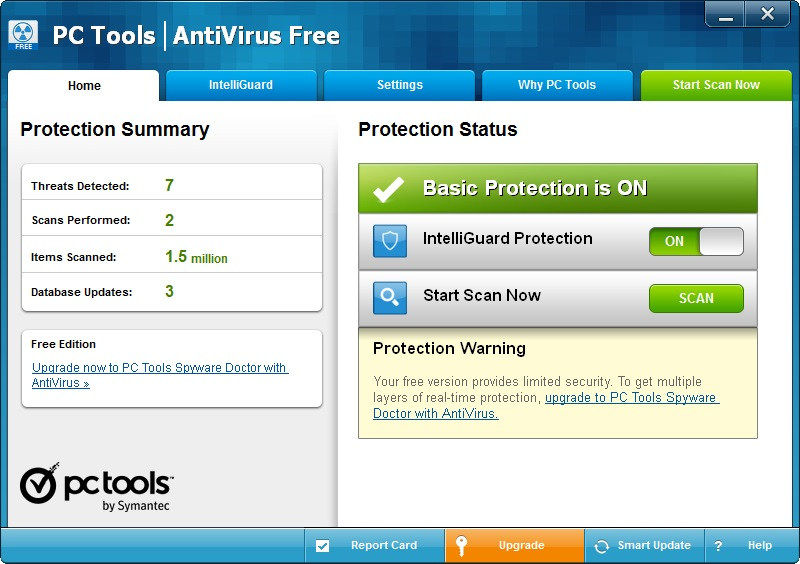 PC TOOLS ANTIVIRUS