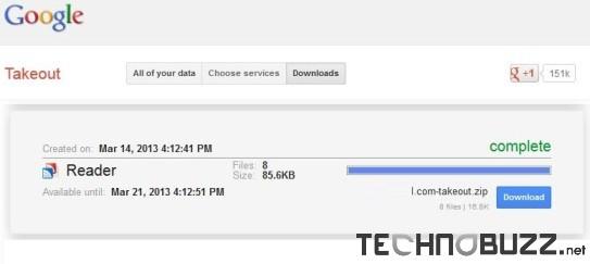 Google Reader Backup
