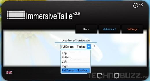 ImmersiveTaiile Basic Settings