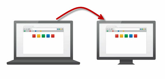 Move Google Chrome Bookmarks From One Computer to Another