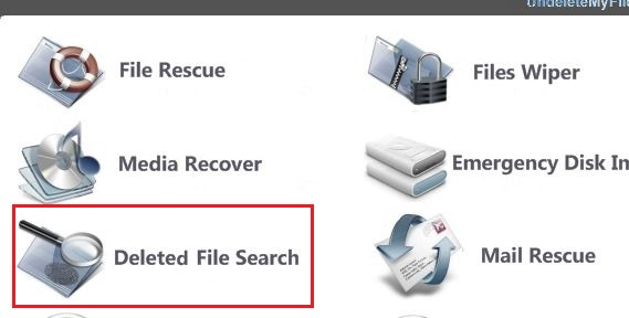 Search Deleted Files