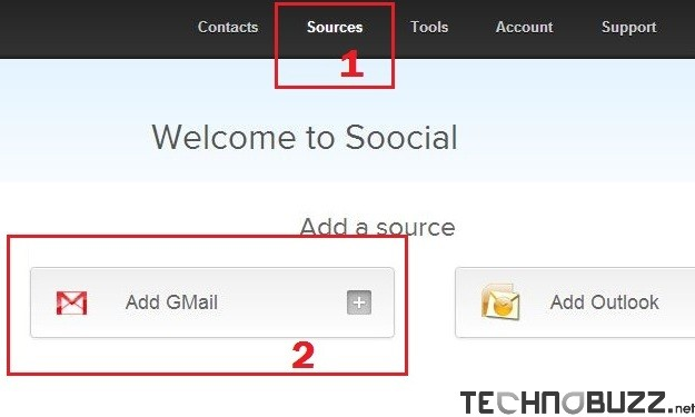 Add GMail Account