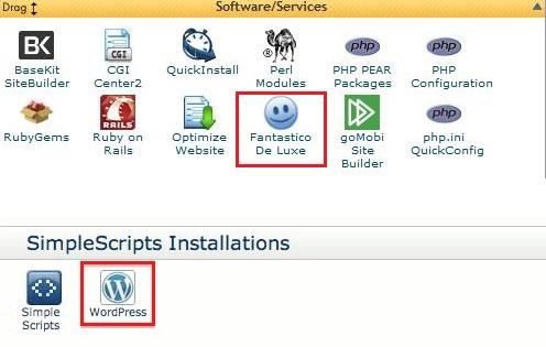 Cpanel WordPress