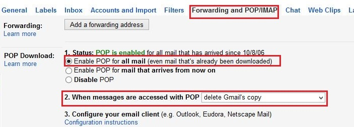 Forward Gmail Emails