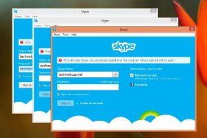 Login Multiple Skype Accounts on Windows