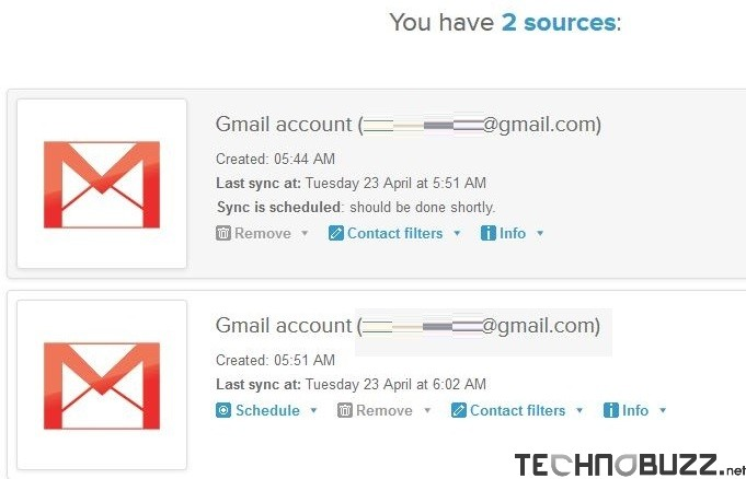 Sync GMail Contacts