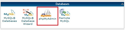 Cpanel Database
