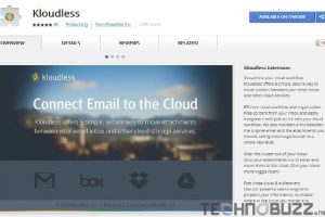 Download Kloudless Chrome Addon