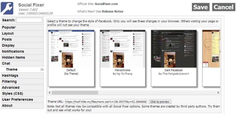 Facebook Social Fixer Google Chrome Addon