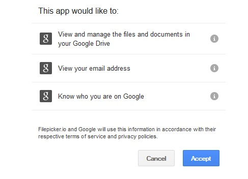 Connect Your Google Drive Account