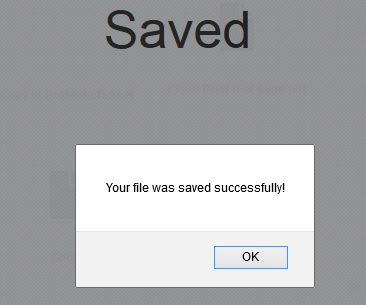 Files Saved on Cloud Account