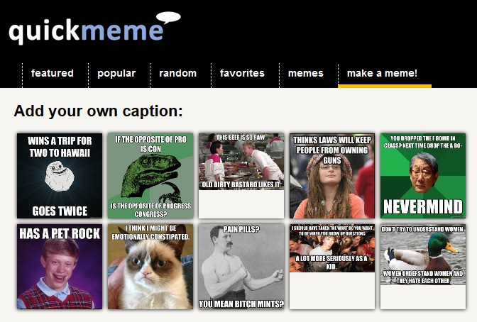Quickmeme Meme Generator