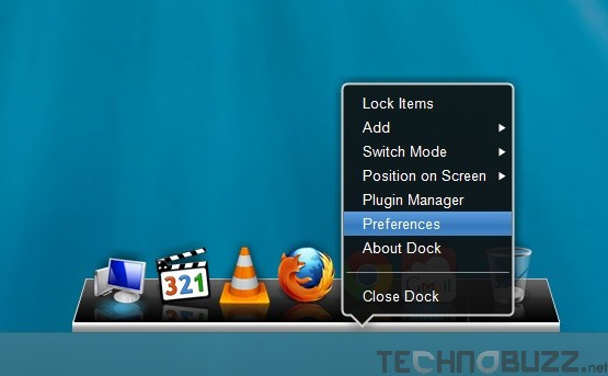 XWindows Dock Settings