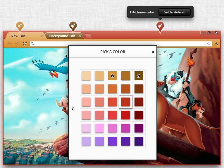 How to Create Google Chrome themes.