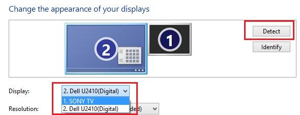 Change Windows 8 Display