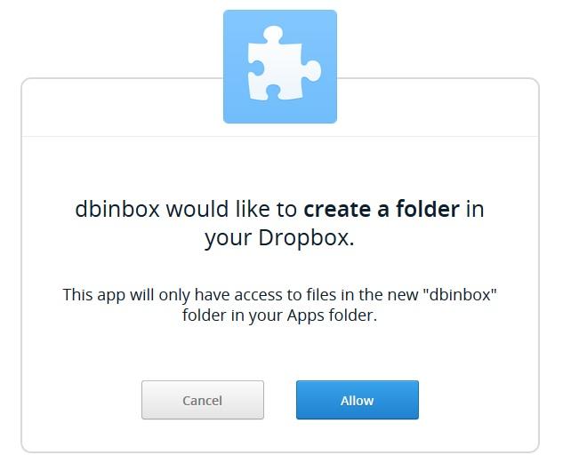 Dbinbox Folder