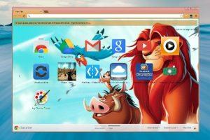 Design Your Own Customize Google Chrome Theme