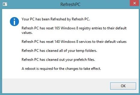 RefreshPC App