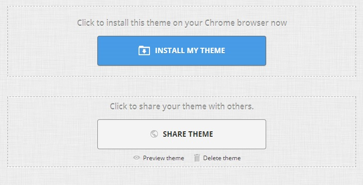 Share Your Chrome Theme