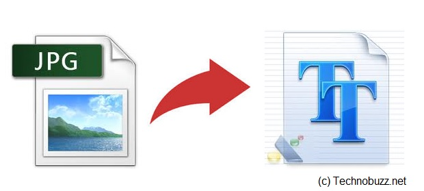 Convert Images In Text Document