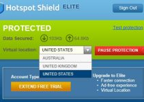 HotSpot Shield VPN service