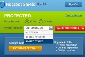 HotSpot Shield VPN service