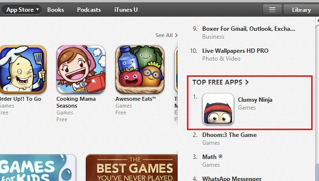 ITunes Free Apps