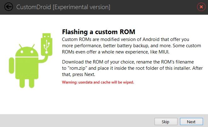 Flash Custom ROM