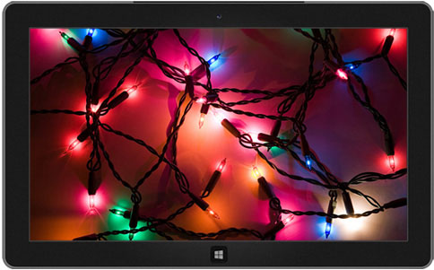 Holiday Lights theme