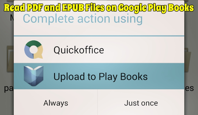 Read PDF and EPUB Files on Google Play Books