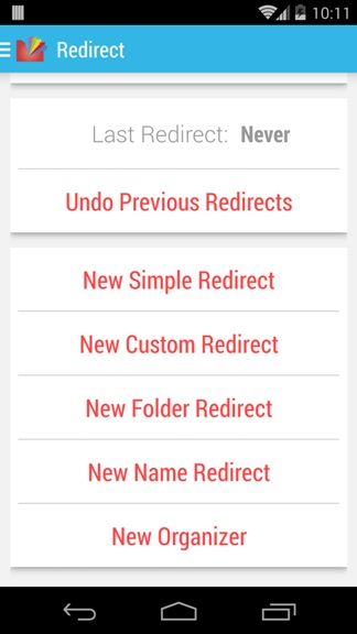 Redirect Files