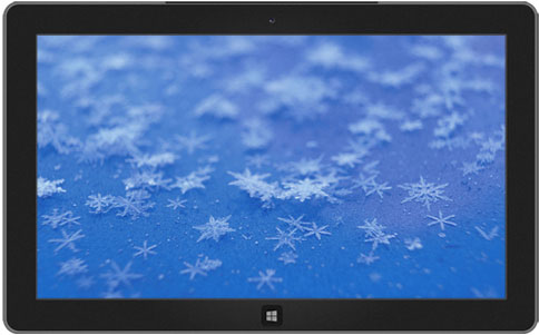 Snowflakes and Frost theme