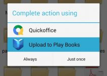 Upload To Play Books