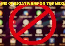 Bloatware on the Nexus 5