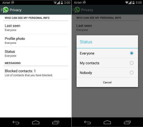 WhatsApp-for-Android-Privacy