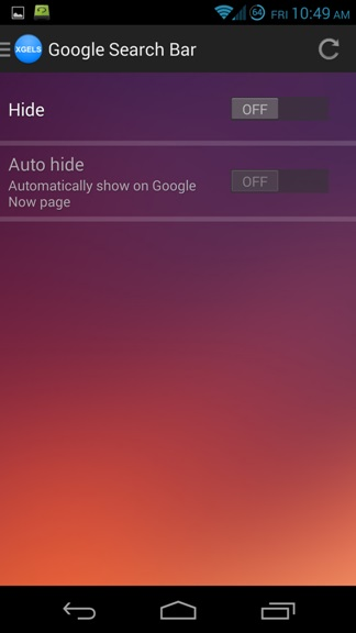 Hide-Google-Search-Bar