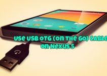 Nexus 5 OTG