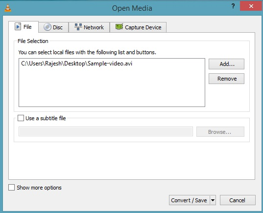 Select-Video-To-Convert