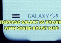 IncreaseGalaxyS5VolumeWithSoundBoostMod