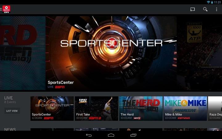 ESPN App FIFA