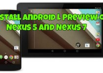Install Android L Preview on Nexus 5 and Nexus 7