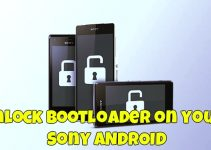 unlock the bootloader on your Sony