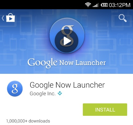 Install-Google-Now-Launcher