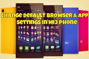 Xiaomi Mi3 chrome browser