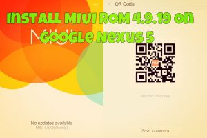 Install MIUI ROM 4.9.19 On Google Nexus 5