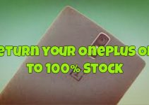 Return your OnePlus One Stock