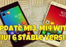 Update Mi3, Mi4 With MIUI 6 Stable Version