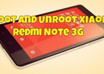 Root and Unroot Xiaomi Redmi Note 3G